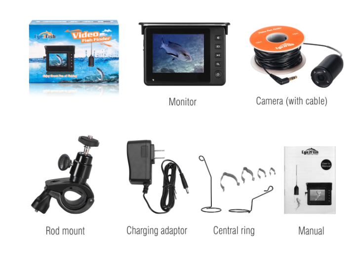 Eye2Fish DY03A Video Fish Finder Accessories