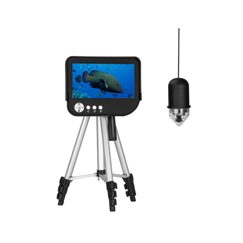 Eye2Fish DY07A-WD 7-inch Underwater Fishing Camera (DVR) with 100m depth, 80kgs tensile strength, Depth/Temp Indication, 360-degree Rotate