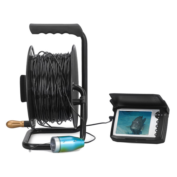 "Eye2Fish DY05BH Underwater Fishing Camera with 5"" High Brightness Panel 1080P Video/Photo Capture Cable Strength 80kgs Cable Length 50/100m"